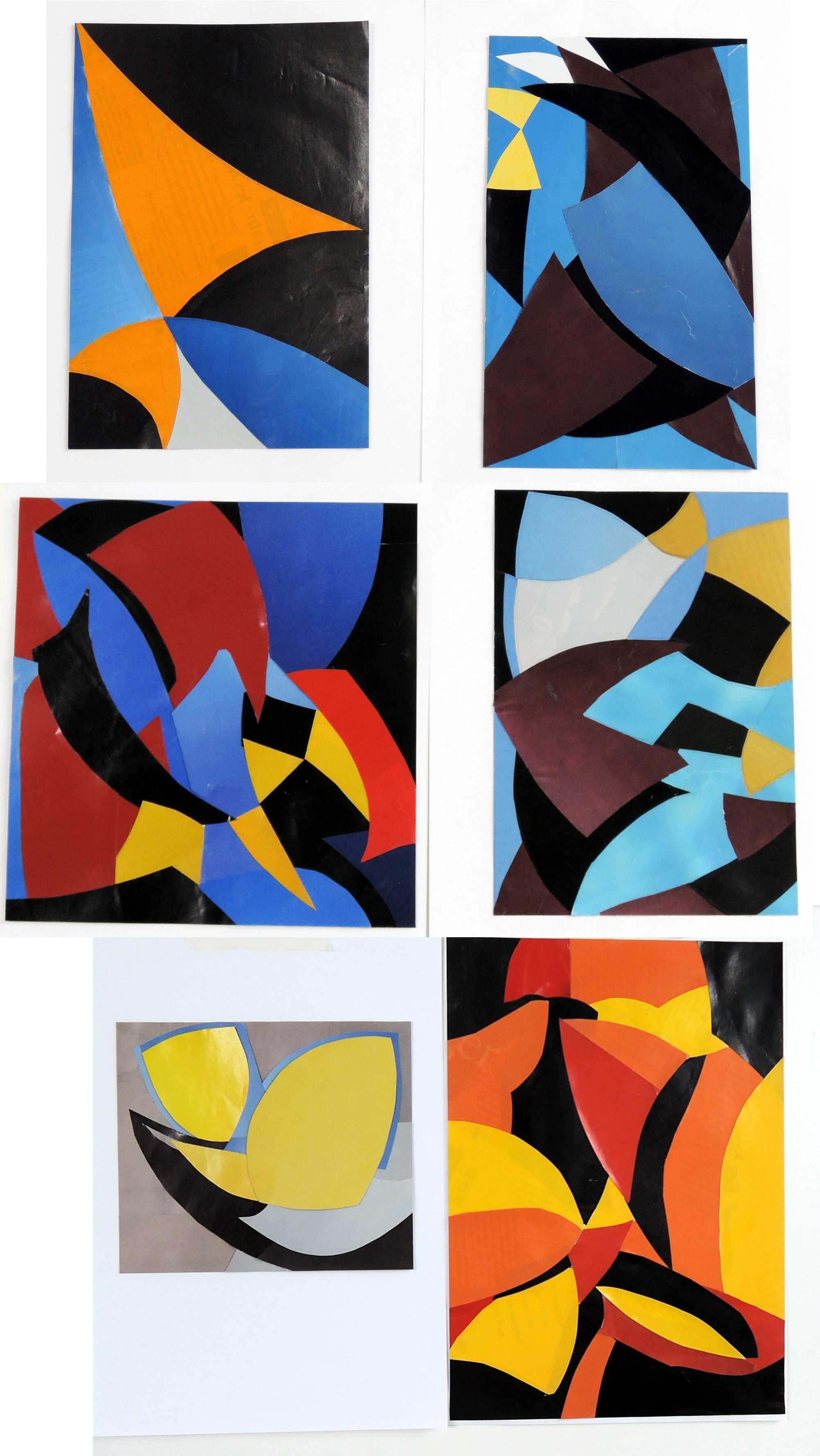 Alfred Reth collages mercredi 18 juin 2014