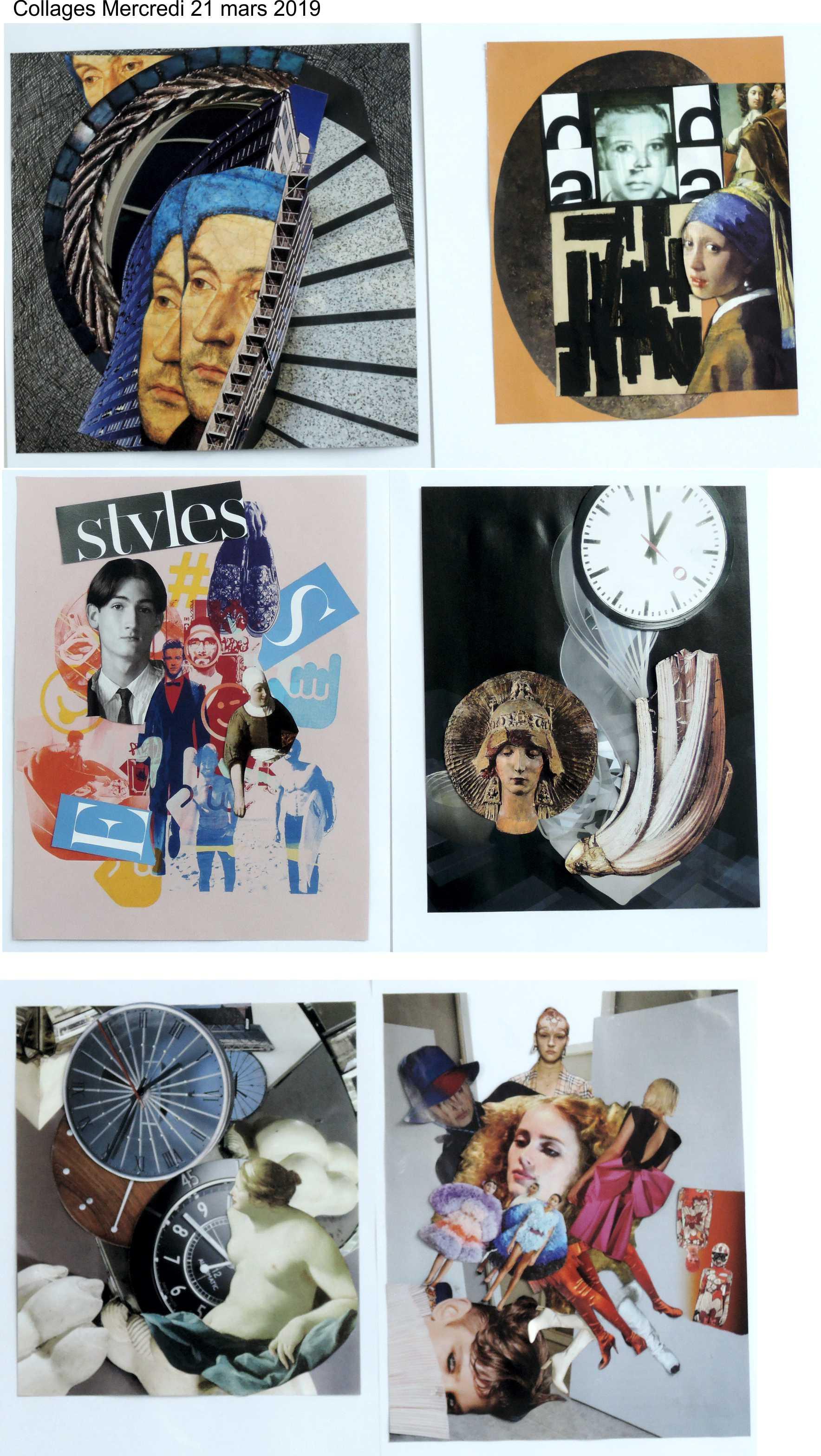 Collages jeudi 21 mars Raoul Hausmann 1