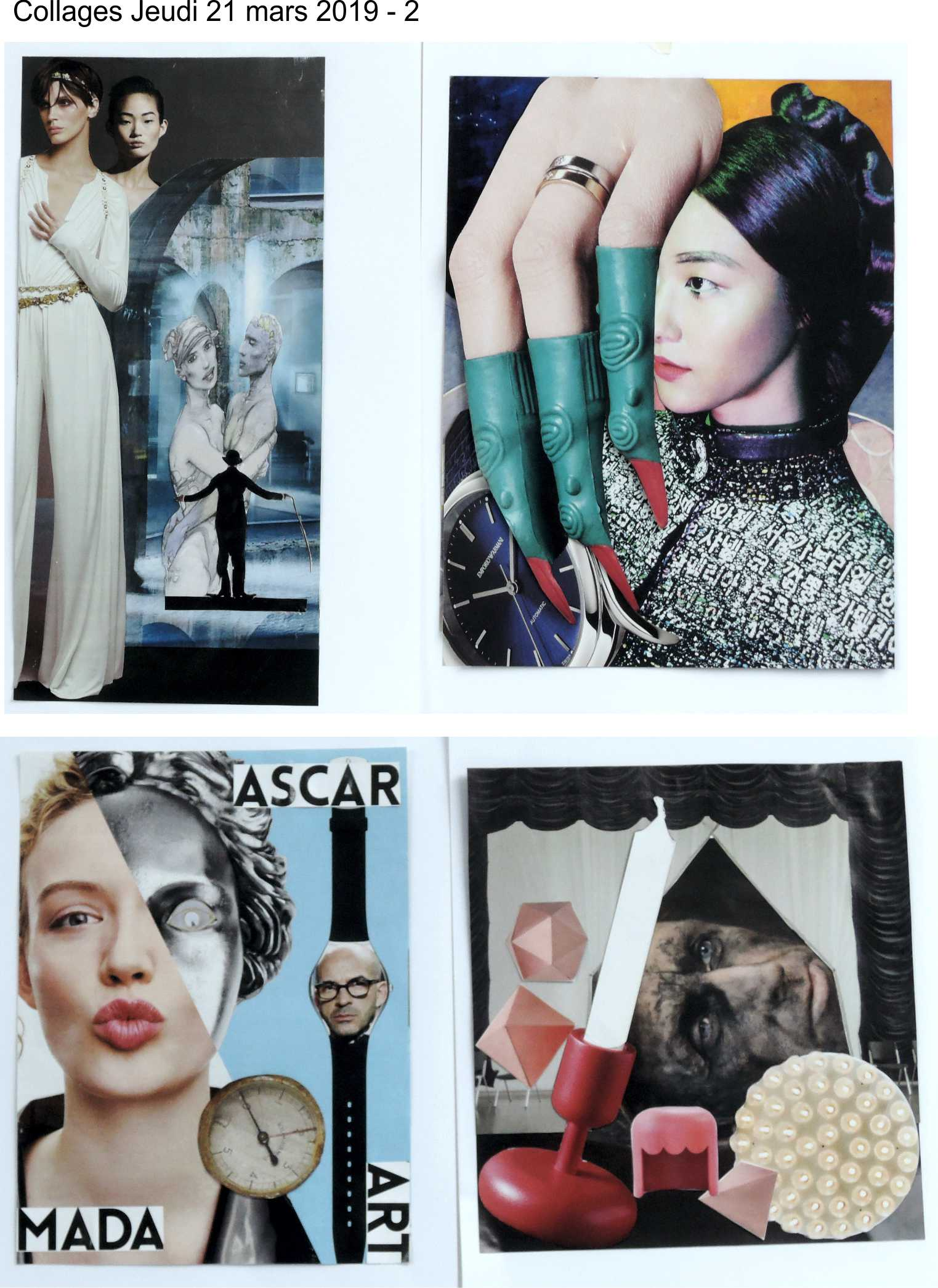 Collages jeudi 21 mars Raoul Hausmann 2