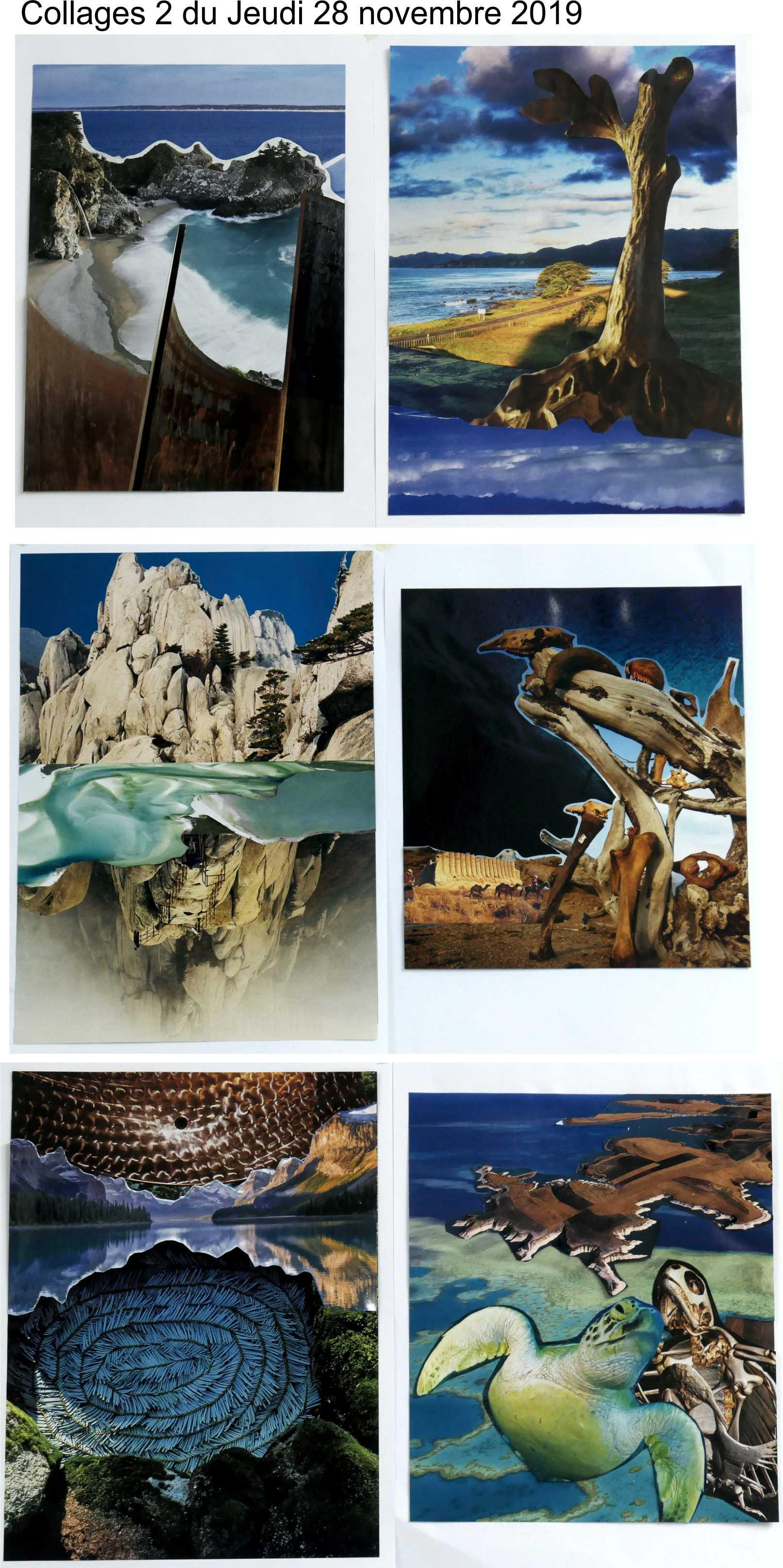 Collages 2 jeudi 28 novembre 2019